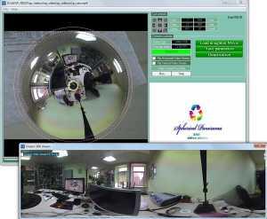 Spherical Panorama 360 Doughnut Video Player