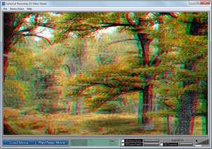 Spherical Panorama 3D Stereo Video Viewer