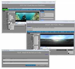 Spherical Panorama Combination 360 Video Bundle