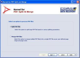 Download Split PDF