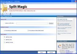 Download Split Up PST File