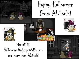 Spooky Haunted House Halloween Wallpaper