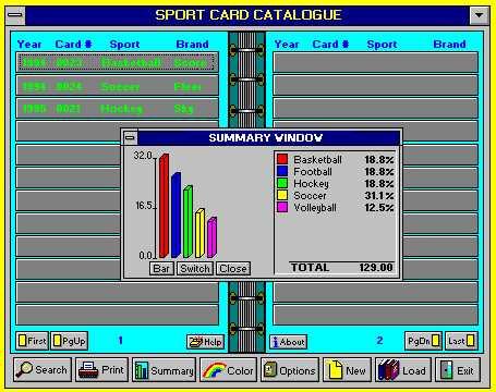 Sports Card Catalog