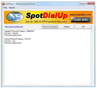 Download SpotDialup Password Recover