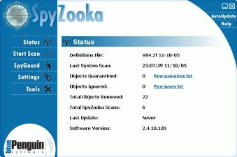 Download SpyZooka - Anti-Spy Tools