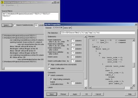 Download SQCBW Source Code Beautifier