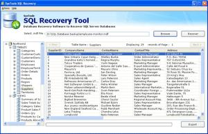 Download SQL Database Recovery Tool