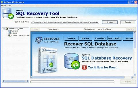Download SQL Recovery