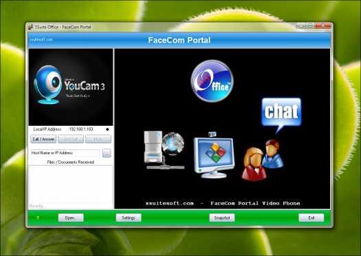 SSuite Office - FaceCom Portal