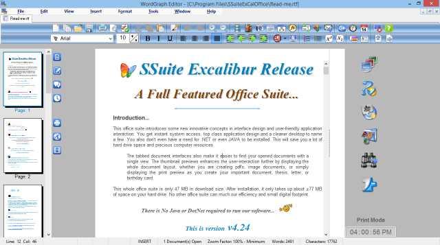 SSuite WordGraph Portable
