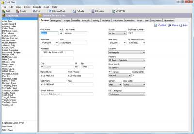 Download Staff Files