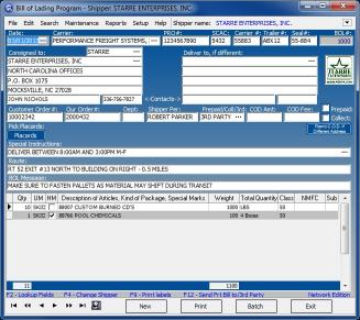 Download Star Bill of Lading Program