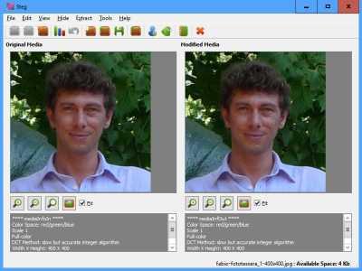 Steg Easy cross platform steganography