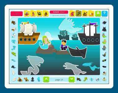 Download Sticker Activity Pages 2: Fantasy World