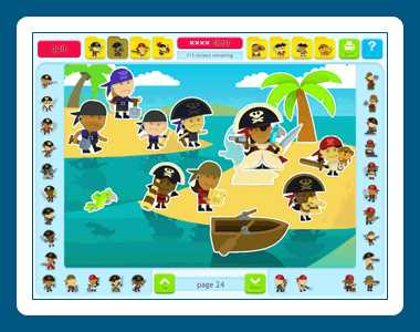 Download Sticker Activity Pages 5: Pirates