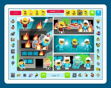 Download Sticker Activity Pages 6: Superheroes