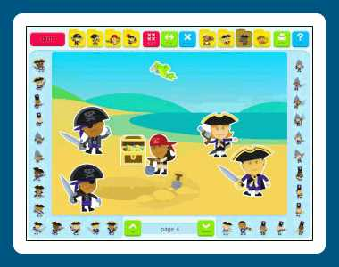 Download Sticker Book 5: Pirates
