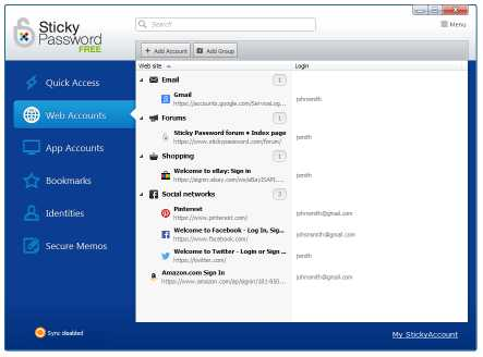 Download Sticky Password