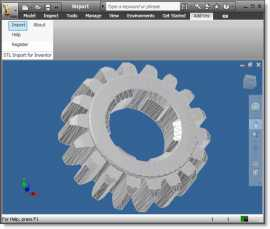 STL Import for Inventor