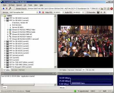 Download StreamGuru MPEG & DVB Analyzer