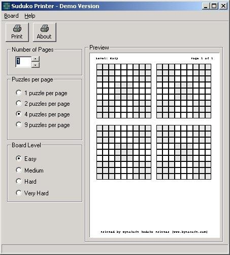 Download Sudoku Printer