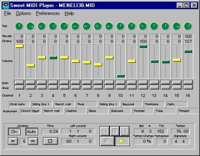 Download Sweet MIDI Player for Windows