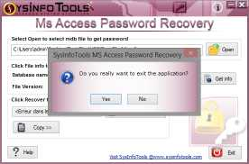 SysInfoTools MDB Password Recovery