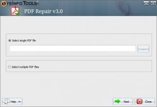 Download SysInfoTools PDF Repair