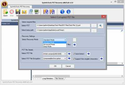 SysInfoTools PST Recovery