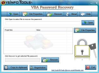 Download SysInfoTools VBA Password Recovery