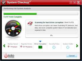Download System Checkup