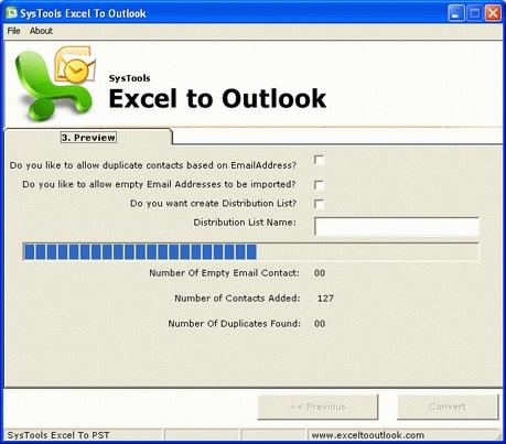 Download SysTools Excel to Outlook