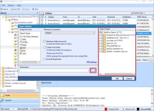 SysTools MailPro+