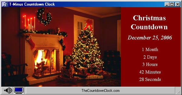 download t minus christmas countdown