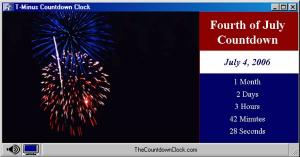Download T-Minus Fourth of July Countdown