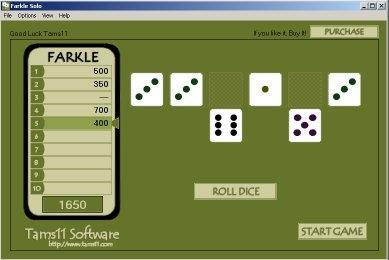 Download Tams11 Farkle Solo