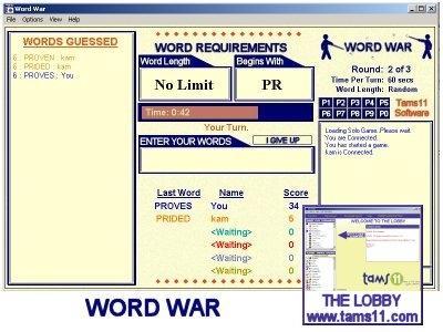 Download Tams11 WordWar
