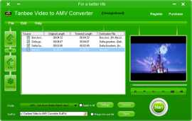 Tanbee Video to AMV Converter