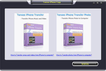 .Tansee iPhone Copy Pack II platinum
