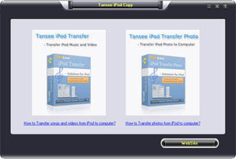 .Tansee iPod Copy Pack II p