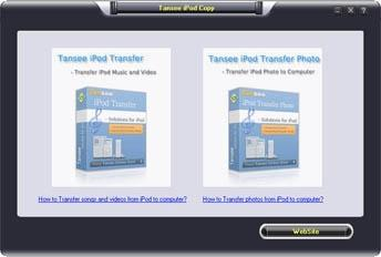 Download Tansee iPod Music & Video & Photo Backup