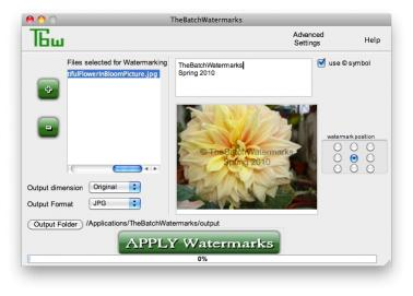 Download Tbw - mac watermark software