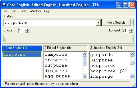 Download TEA Crossword Helper