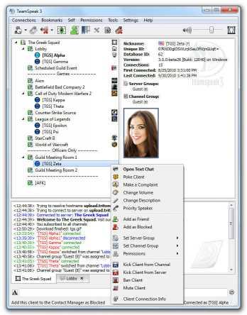 Download TeamSpeak Client