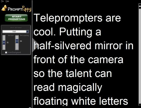 Download Teleprompter Software