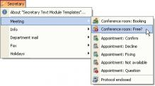 Download Templates for Secretary Helpdesk texts