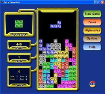 Download Tetrix Game Gold