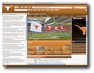 Download Texas Longhorns IE Browser Theme