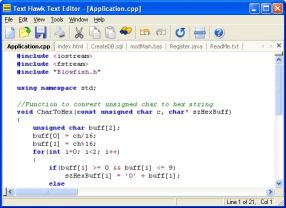 Download Text Hawk Text Editor