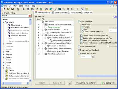 Download TextPipe Lite